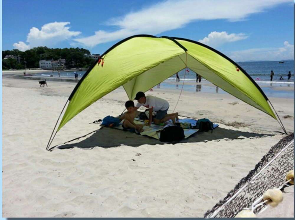 Get Quotations Beach Tent Canopy Sun Shelter Pop Up 3 8 People Large