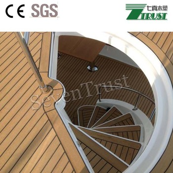 Plasdeck Replacementhot Resistant Marine Deckingpvc Boat Flooring