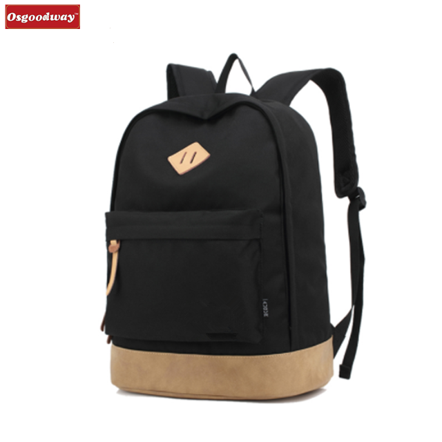 Osgoodway New Products College Waterproof Oxford Fashion Backpack School Bag for Teenagers Climbing