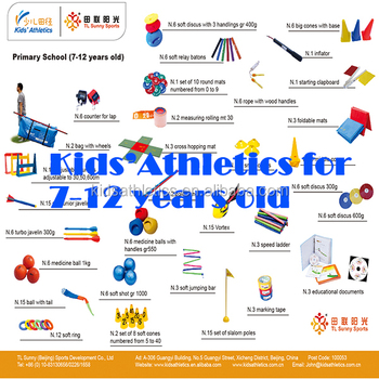 athletics educational kit for kids 7-12 years old