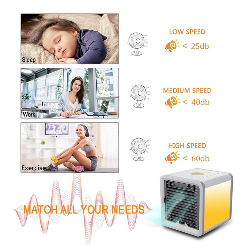 Hot Sale Home Office Table Multi-Fuctional Personal Space Usb Mini Portable Artic Air Cooler