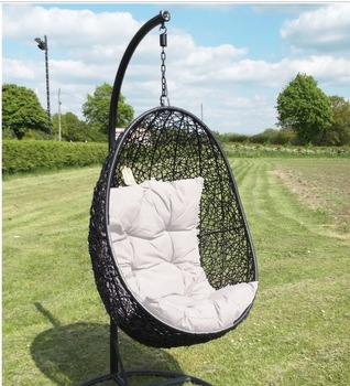 Incroyable Swinging Egg Outdoor Wicker Chair Hammock Patio Swing Pool Garden Unique  Chairs