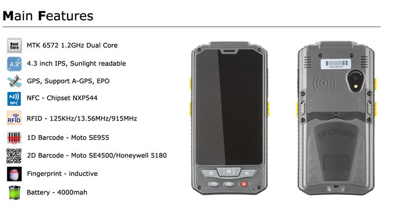 Batl Bh9 Android Rugged Handheld Computer Handheld Communication ...
