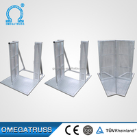 Best sales safety aluminum crowd control barrier ,road safety barrier