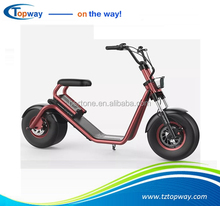 EEC Approval 2017 new citycoco 1000w fat tire halley adult electric scooter