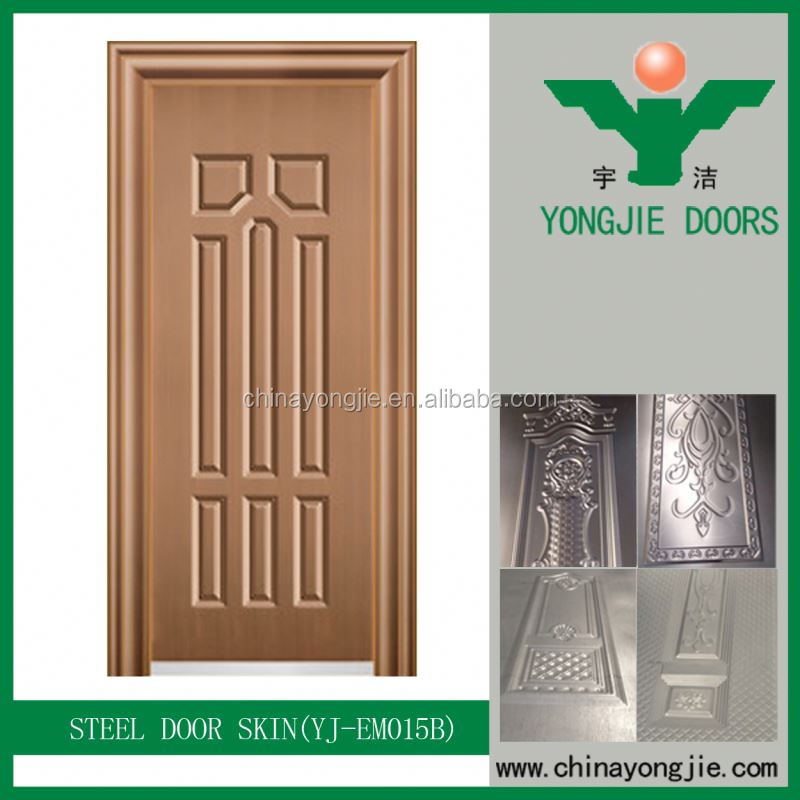 Yujie Die Casting Satin Finish Door Chain With Leather Sheet
