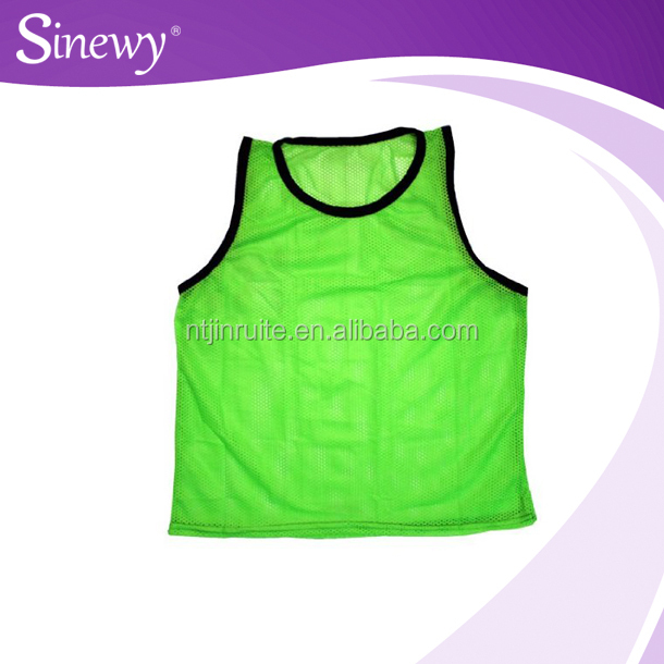 Mesh Soccer Training Vests