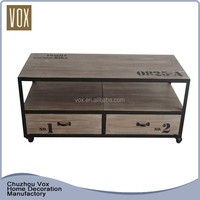 Classic style durable solid wood fashion luxury tv stand