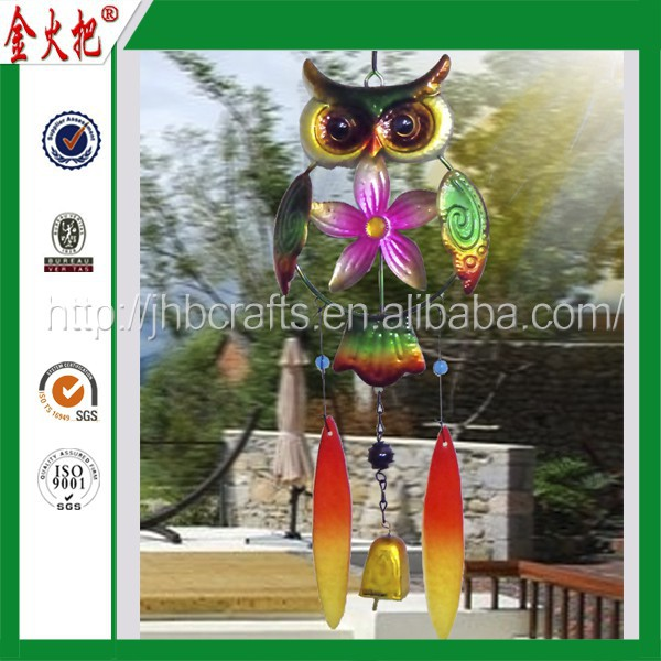 Wholesale high quality owl wind chime