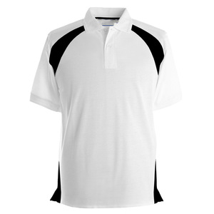 High quality fashion polo t shirts wholesale polyester cotton men casual wear from China OEM