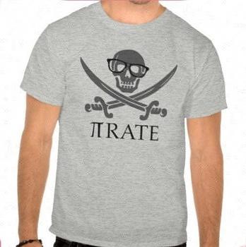 0de7bf96 Funny Geek pirate rhinestone t shirts