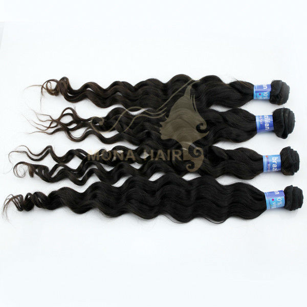 New design weft weave brazilian virgin human hair popular hair products in brazil