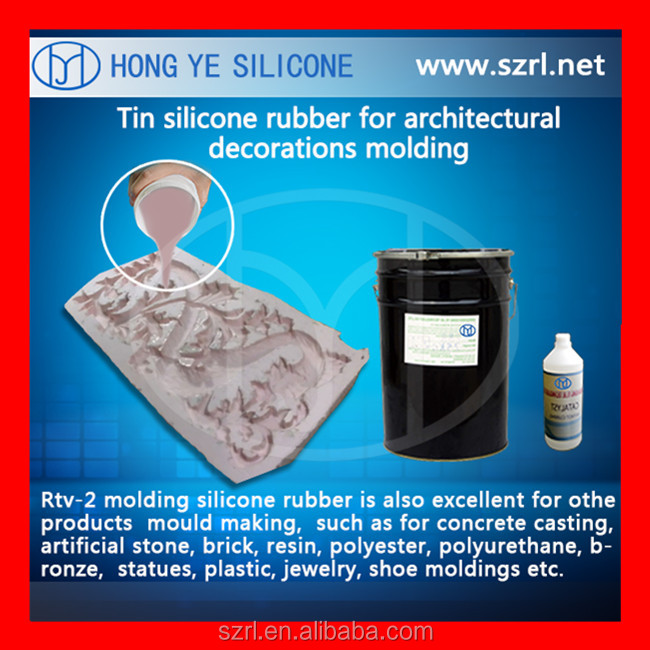 Good operability liquid silicone rubber for mold malking