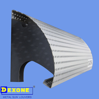 Curved Metal Acoustic Solar Shading As Sun Shade Buy
