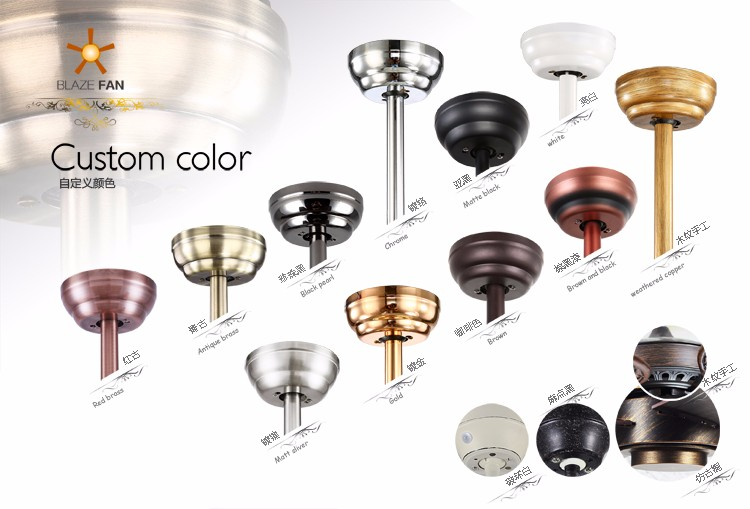 led light bulbs ac ceiling fan hidden blades modern