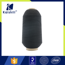 China factory recycled dope dyed polyester filament yarn