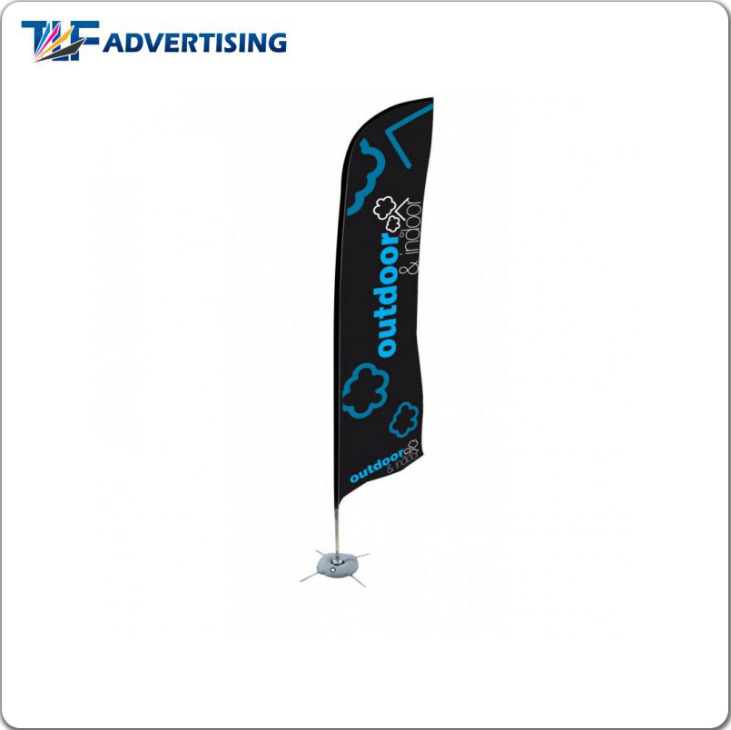 2017 Outdoor and indoor marketing banner sail flags large feather flag