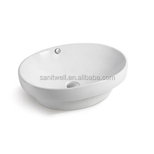 New Perfect Model Ceramic Hand Wash Basin with Special Shape for Bathroom and Public Usage