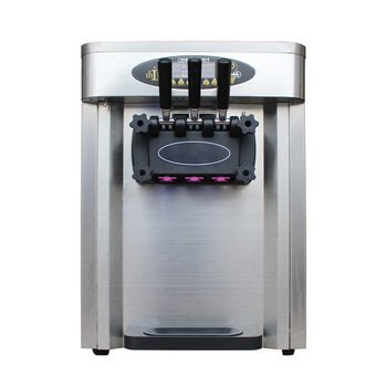 (MK25CT)High quality Japanese compressor table top soft serve ice cream machine