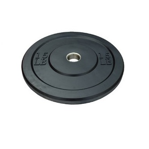 Hot Sale Top Quality Gym Equipment/ Black Rubber Bumper Plate/Weight Plate