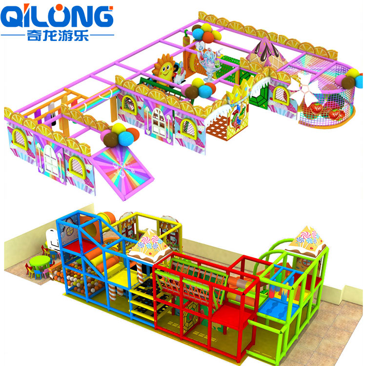 Theme Amusement Park Combined Equipment Rides Children Commercial Indoor Playground Equipment