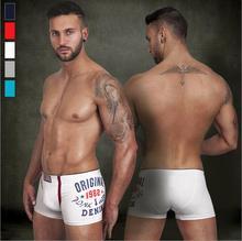 high quality cotton 1982 printed boxers Modal comfortable underwear men 5 colors Original boxer men fit male shorts men ST512