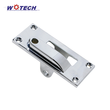 Custom alloy or single metal die-cast door lock fittings or door handles