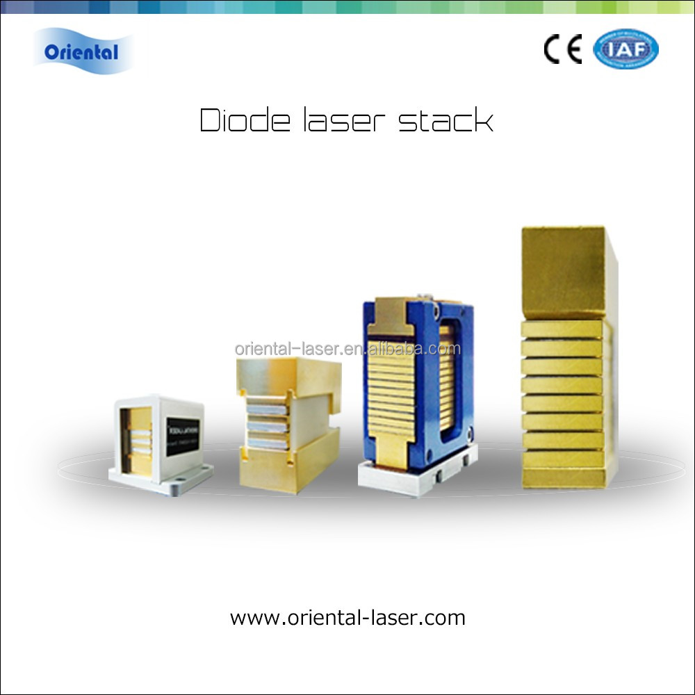 Professional 808nm Laser Diode Pump Vertical Stacks For Hair Removal