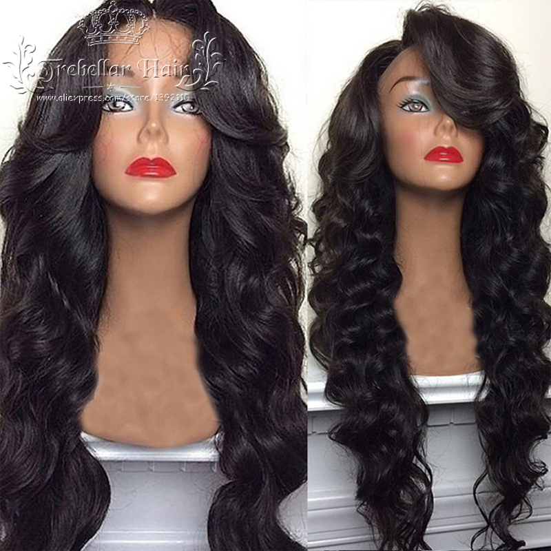 Brazilian Deep Body Wave Full Lace Human Hair Wig Best
