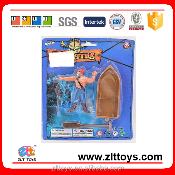 Wholesale toys plastic little pirate ship toy for kids