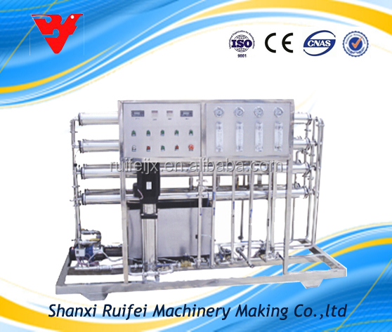 pure water machine price borehole salty water treatment system
