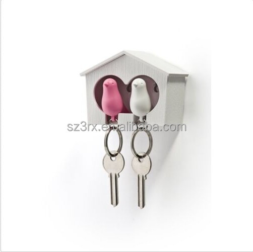 Qualy Sparrow Whistle Key Ring In Various Colours Moderate Cost Other Home Organization