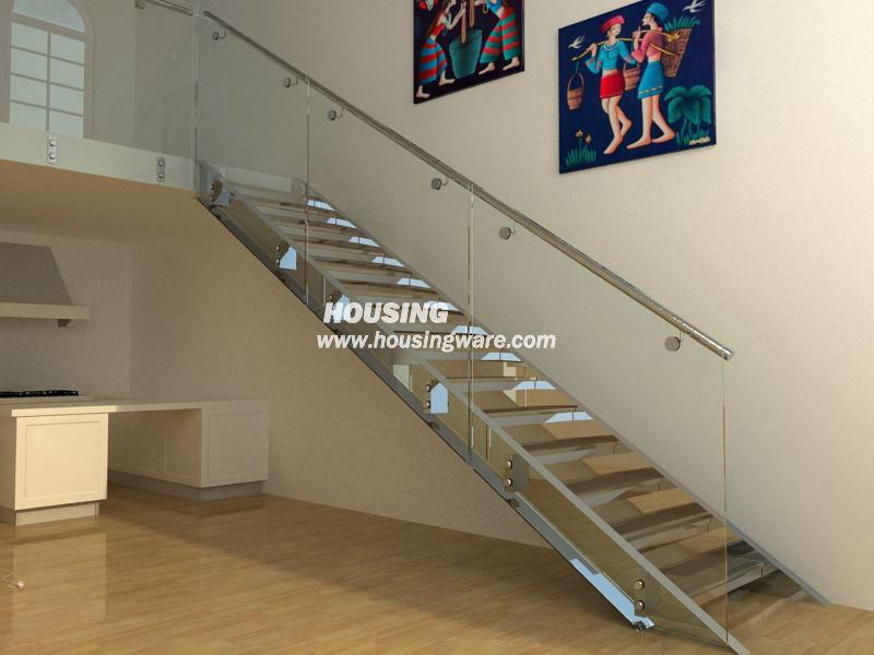 moderne treppe treppe gel nder mit glas treppe produkt id 1226882769. Black Bedroom Furniture Sets. Home Design Ideas