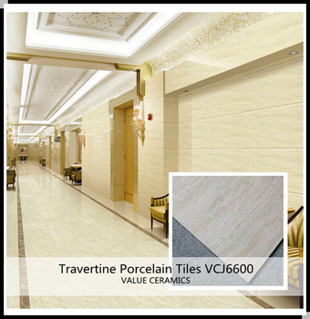 Double Loading Imitation Travertine Tile With Good Price