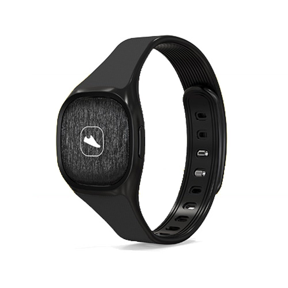 W8 Smart Watch Bluetooth Notification Bracelet Sport Bracelet Watch stylish smart bracelet pedometer health sleep monitoring Anti-lost Smart Bracelet for Android ISO(Black)