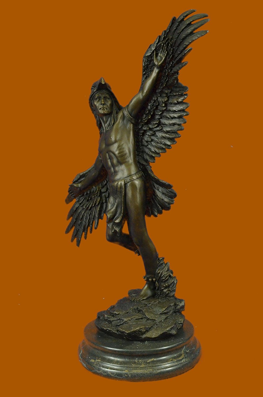 Amazon.com: Handmade European Bronze Sculpture Signed