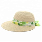 Hot Sale Foldable Women Beach Touring Summer Sun Wide Brim Beach Lady Straw Hat