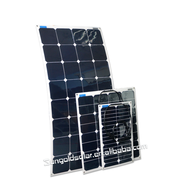 flexible solar panel 130w for China manufacturer