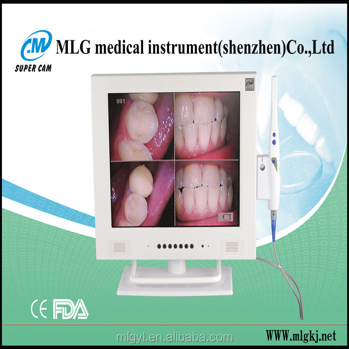 M-958A new 15 inch LCD WI-FI high pixel intra oral dental chair camera price cameras/best intraoral camera shofu dental