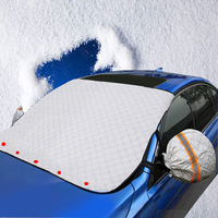 new design car windshield snow and ice cover frost guard and snow proof windshield cover