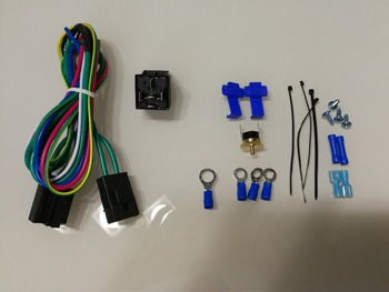 relay wire harness kit for auto universal radiator fan