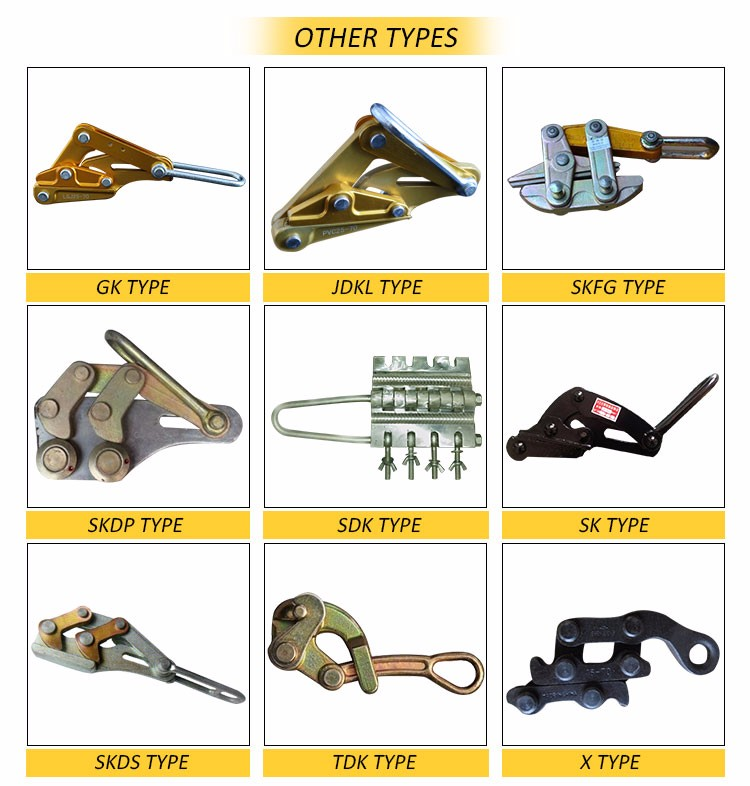 types of Come Along Clamp