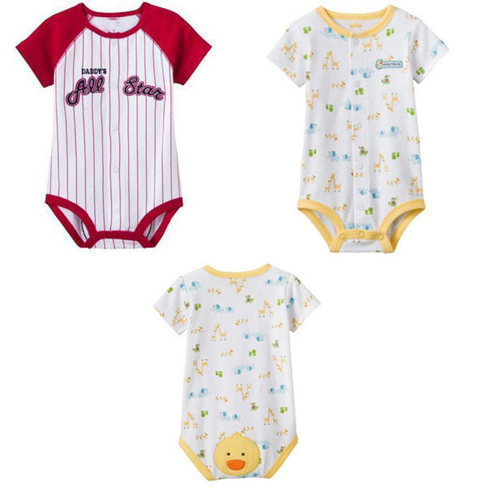ae78b83abd62 Buy Baby newborn rompers 2015 fashion Fruit printing children ...