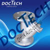 doctech231 stainless steel 304 316 Y strainer flange end class 150