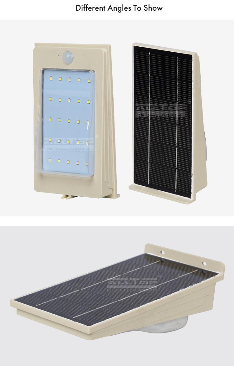 Çin doğrudan satış ip65 2 w 3 w 4 w 5 w açık hepsi bir güneş duvar led ışık