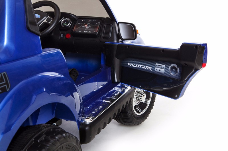 Ford Ranger Ride On Car Truck Kids Children Electric Toys Remote Blue