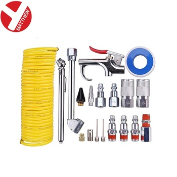 20pcs Pneumatic Air Duster Power Blow Gun Set For Car