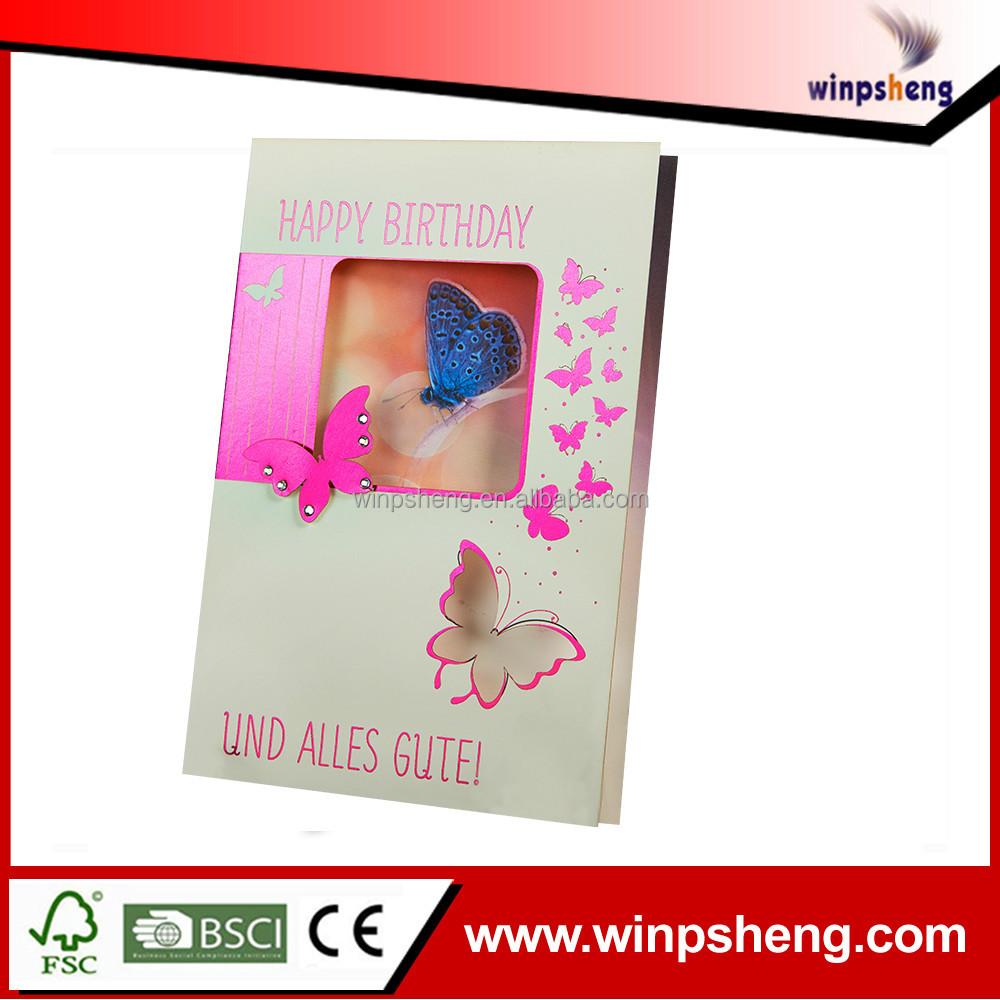 Finden Sie Hohe Qualität Faltbare Geschenkkarte Hersteller und ...