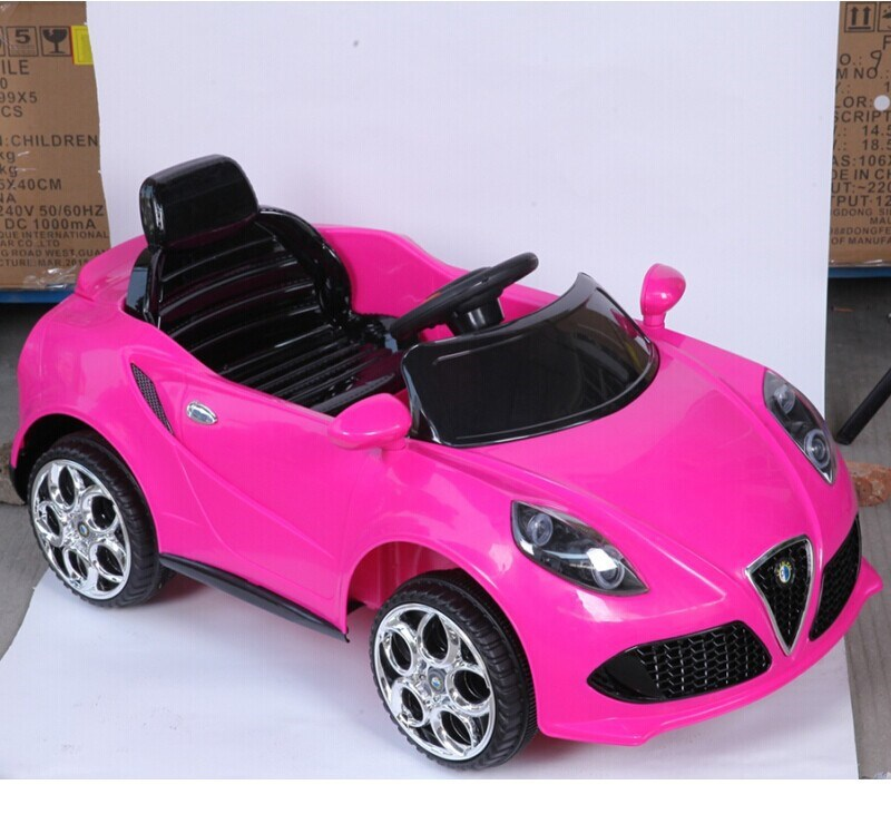 pink color kids car toy automatic wholesale ride on battery operated kids baby car buy 12v battery kids carskids rechargeable battery carskids plastic
