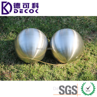 Factory price 4 inch 4'' AISI 304 stainless steel round hollow metal sphere ball for home decoration